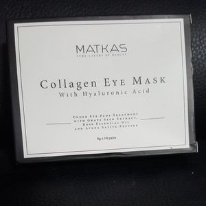 Matkas Luxury Collagen Eye Masks - 10 pair new